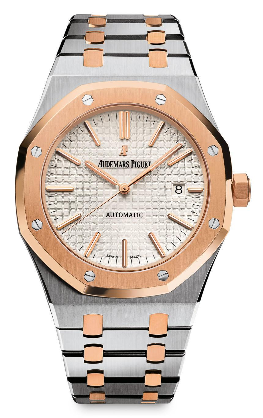 The luxury Audemars Piguet watches with steel and gold ...