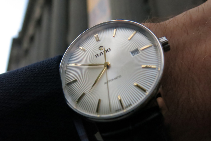 c1107150327 A Rado Coupole Classic Automatic - hands-on review - Swiss Watches ...