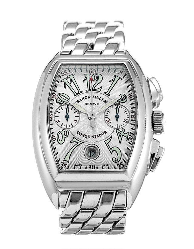 Franck Muller Silver Stainless Steel Watch