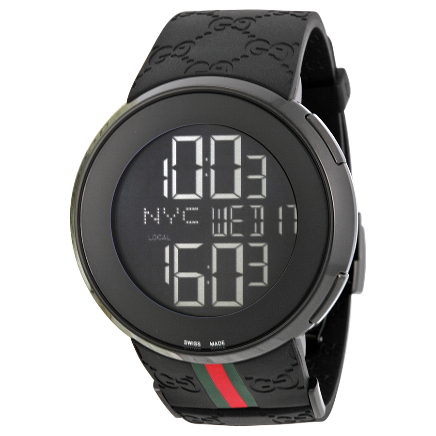 Gucci digital men's watch- Gucci 114
