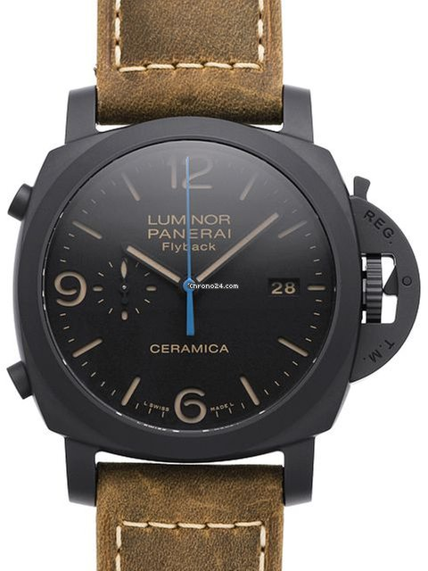 Panerai professional diving watch crafted with titanium - Panerai dive watch ...