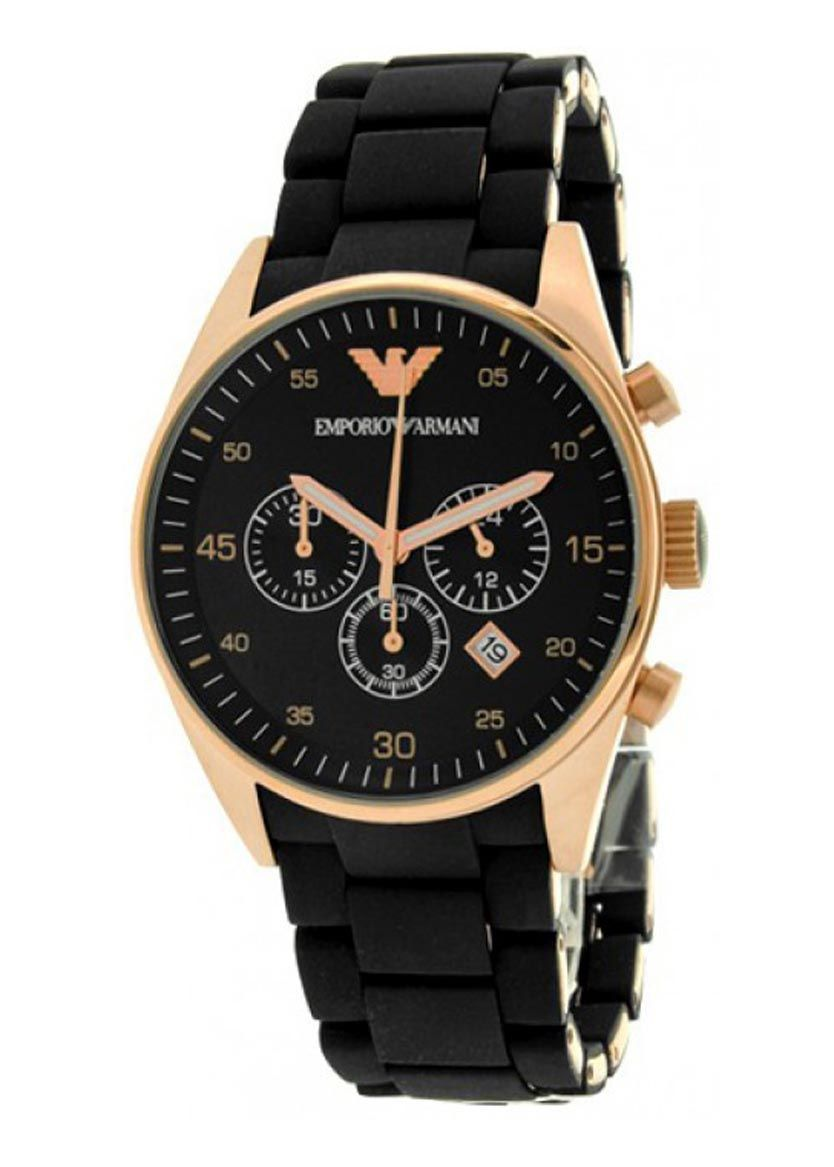 Front of Emporio Armani AR5905 watch