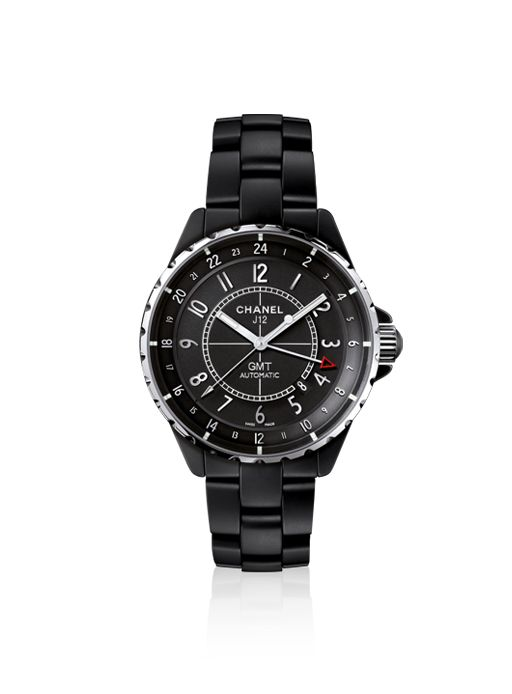 Front of Chanel J12 GMT Matte fashion watch 02