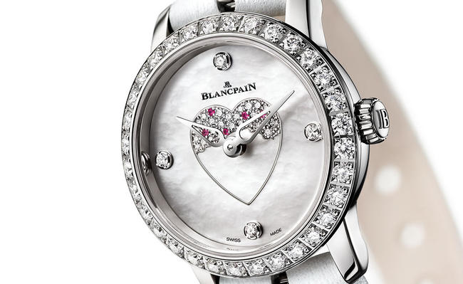 Stunning Valentine S Day 2016 Watch New Blancpain Ladybird Swiss