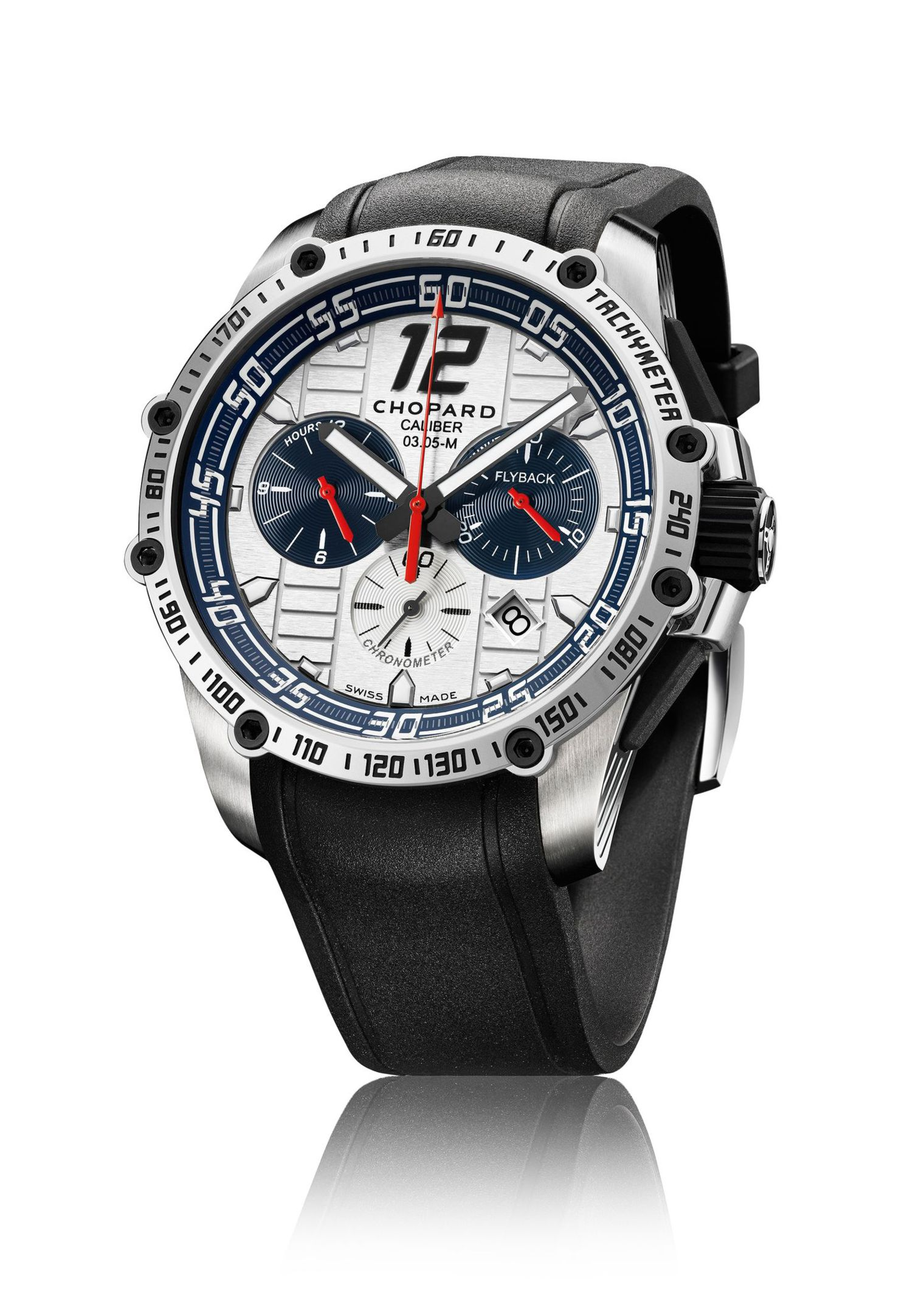 Side of Chopard Superfast Chrono Porsche 919 Jacky Ickx edition
