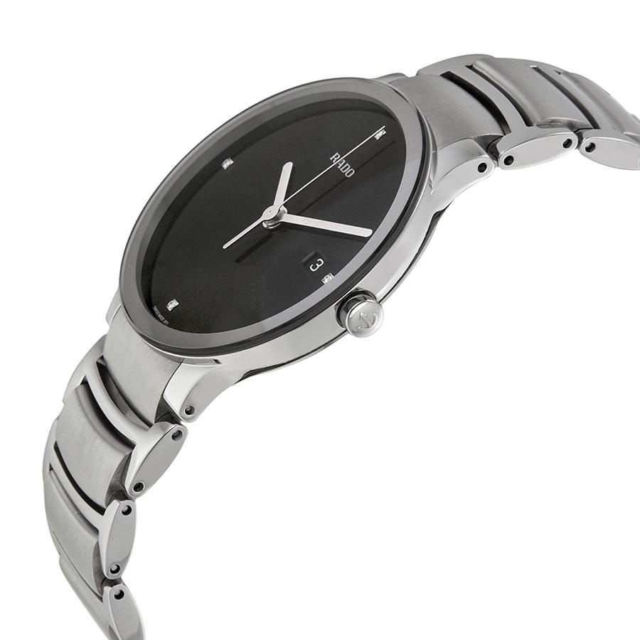 rado centrix jubile black diamond watch review swiss