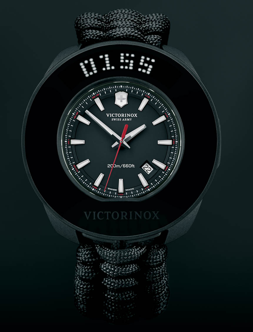 Front of Victorinox Inox smartwatch