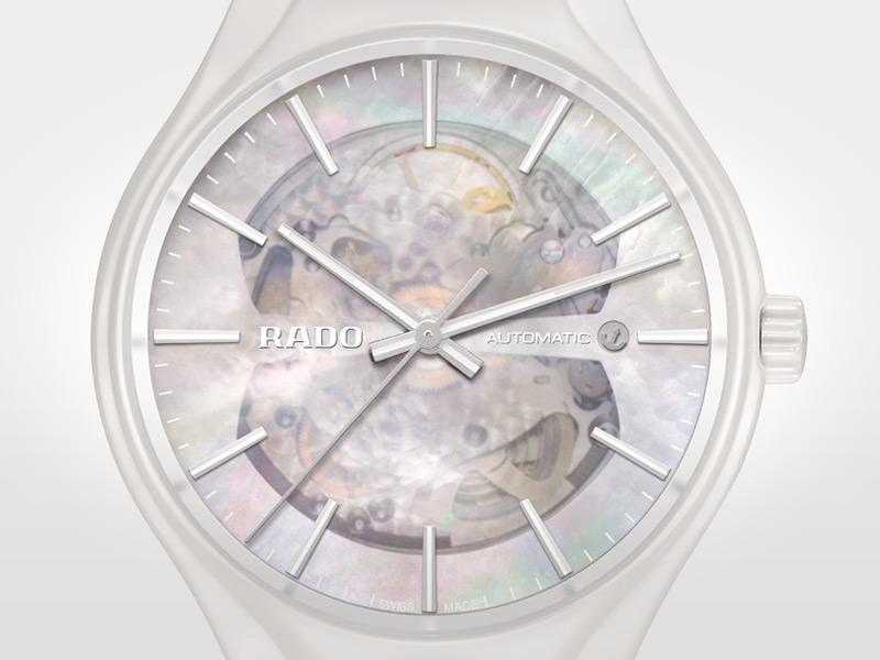 RADO True Open Heart with white high-tech ceramic 02