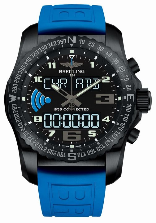 Front of Breitling Exospace B55 Connected