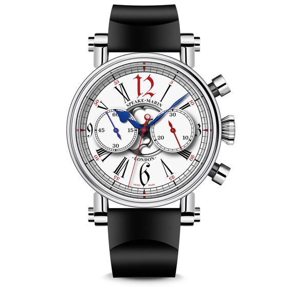Front Of Speake-Marin London Chronograph Special Edition Watch