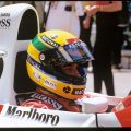 Ayrton Senna at the Monaco Grand Prix