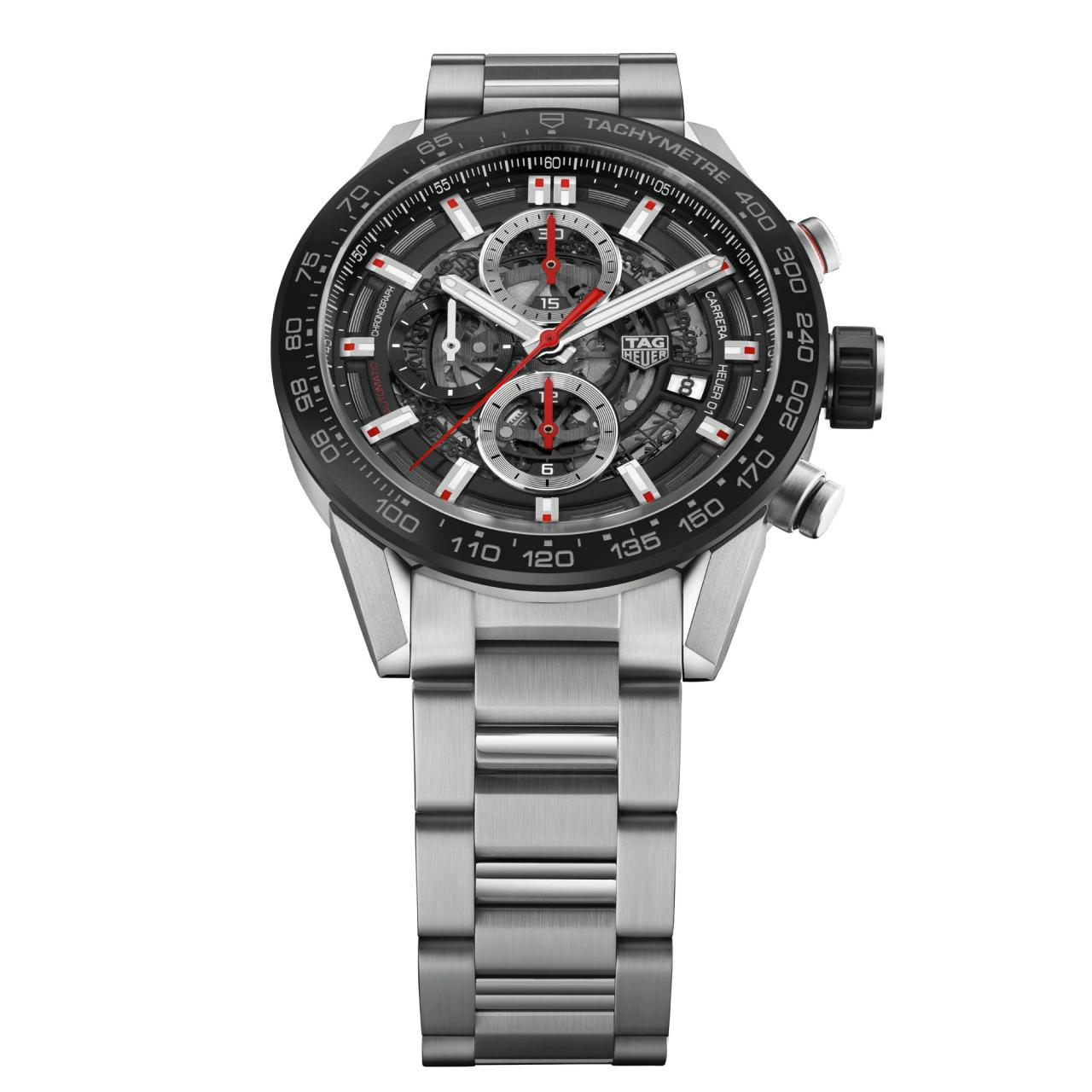 TAG Heuer Carrera Heuer-01 43mm black