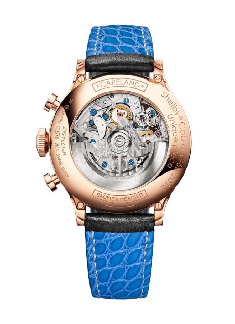 Baume & Mercier To Auction Unique Capeland Shelby Cobra Watch