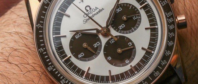 Omega Speedmaster Moonwatch Numbered Edition 'First Omega In Space' Watch