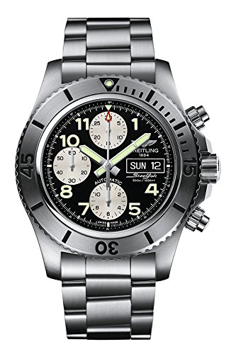 Luminated Breitling Chronograph Steelfish Watch A13341C3/BD19-162A
