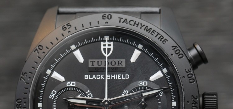 Wonderful Tudor Black Shield Fastrider Ceramic Watch