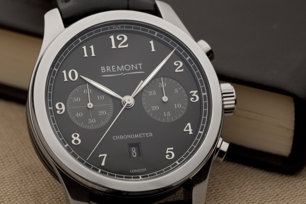 Front of Bremont ALT1-C/PB Dress Chronograph