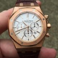 Front of Audemars Piguet Royal Oak Chronograph 26320 Yellow Gold
