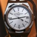Front of Vacheron Constantin Overseas 'Simple Date' Watch