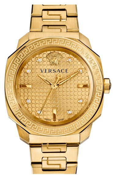 Front of Versace Dylos Bracelet watch