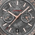 Front of Omega Speedmaster Grey Side of the Moon dial