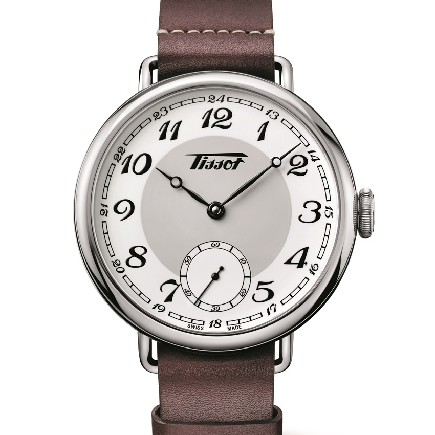 Front of Tissot Heritage 1936