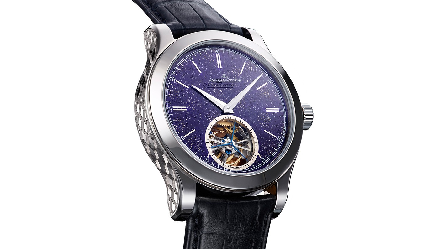 Side of JLC Master Tourbillon Enamel