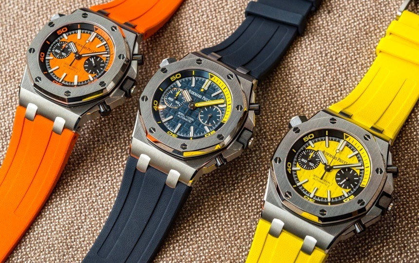 Audemars Piguet Royal Oak Offshore Diver Chronograph hands on