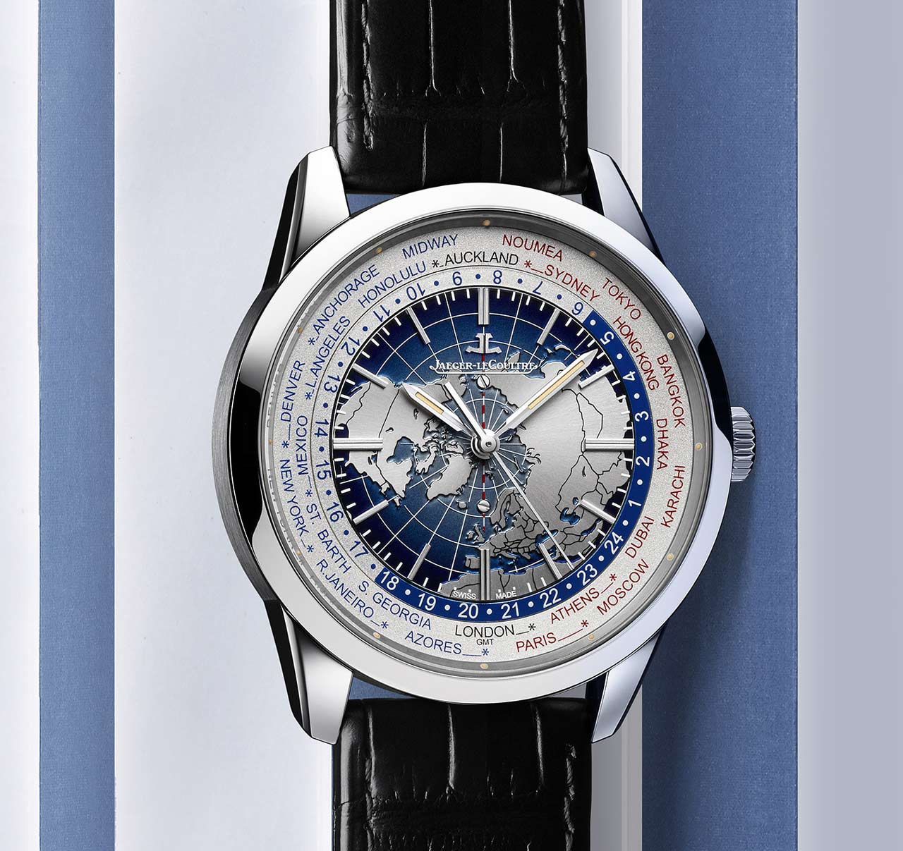 Jaeger-LeCoultre Geophysic Universal Time white gold version