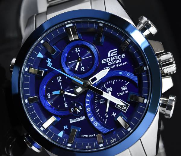 Casio Edifice Formula One watch dial