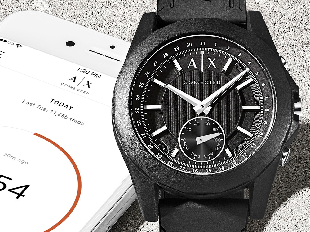 Armani-Exchange-AX-Connected-Smart-Watch-8