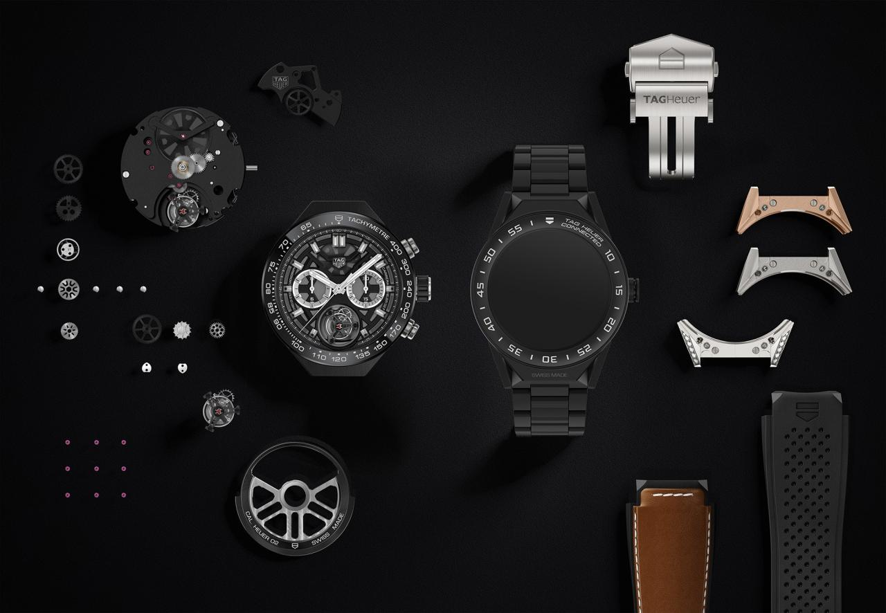 The TAG Heuer Connected Modular 45 is the most customizable smartwatch on the market.
