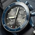 Blancpain Fifty Fathoms Bathyscaphe Flyback Chronograph Ocean Commitment II Watch Now In Blue Ceramic Case Watch Releases