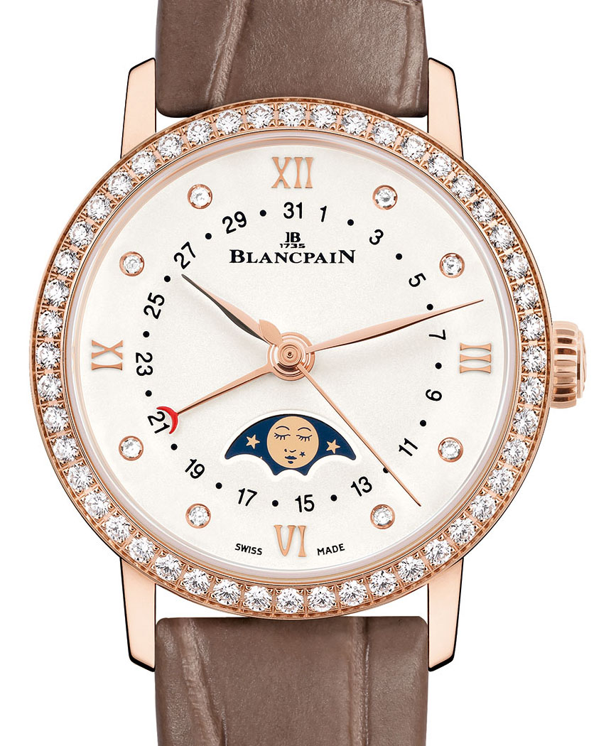 Blancpain Villeret Date Moonphase Ladies' Watch Watch Releases