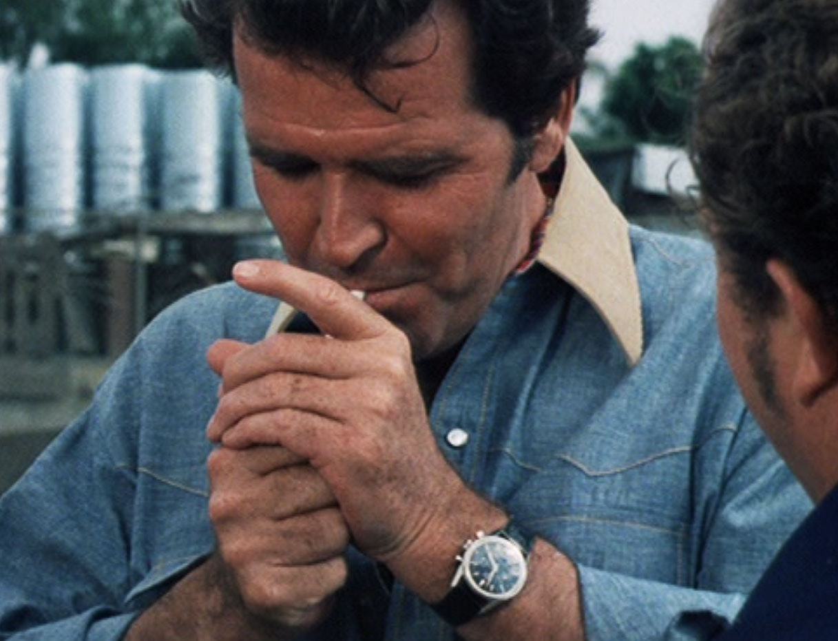 james garner heuer carrera rockford files