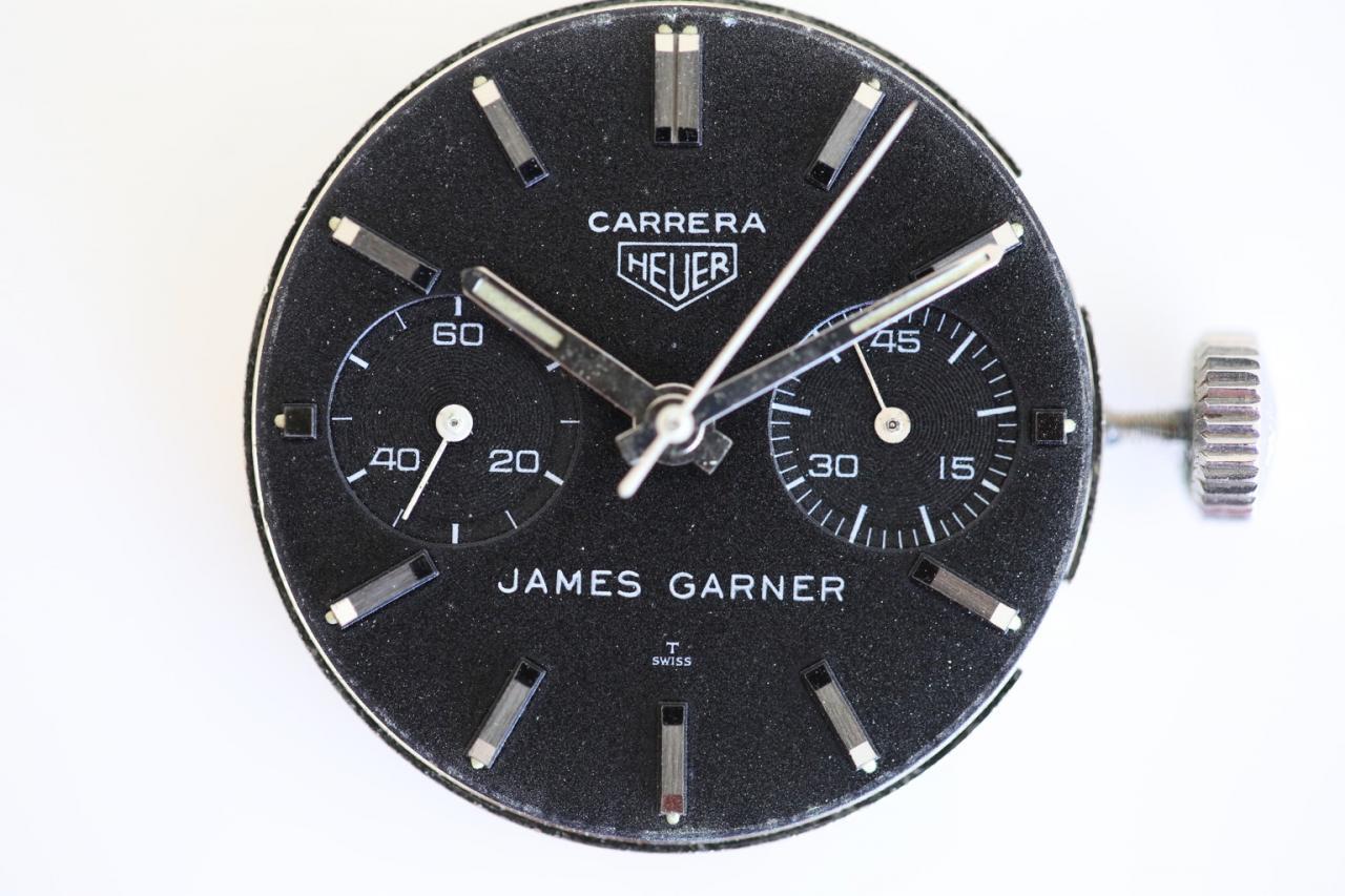 James Garner Heuer Carrera